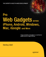 Book cover of Pro Web Gadgets