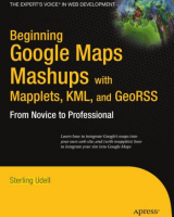 Book cover of Beginning Google Maps Mashups